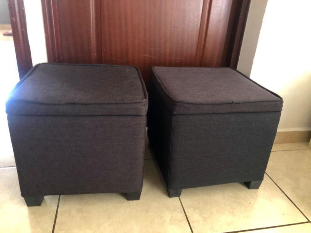 Muebles ottomans  provenientes de USA